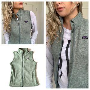 Patagonia Neutral Sage Green Vest Pockets Medium
